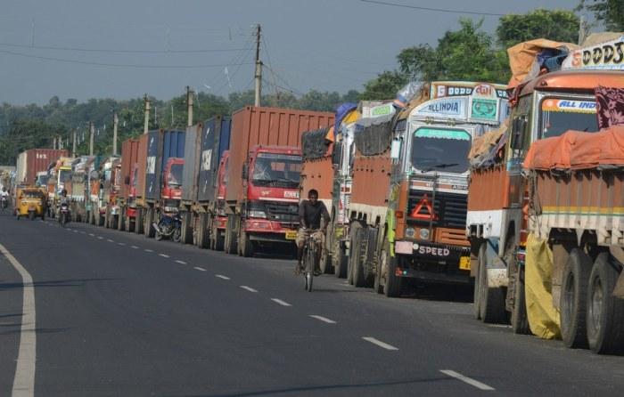 Truck queues